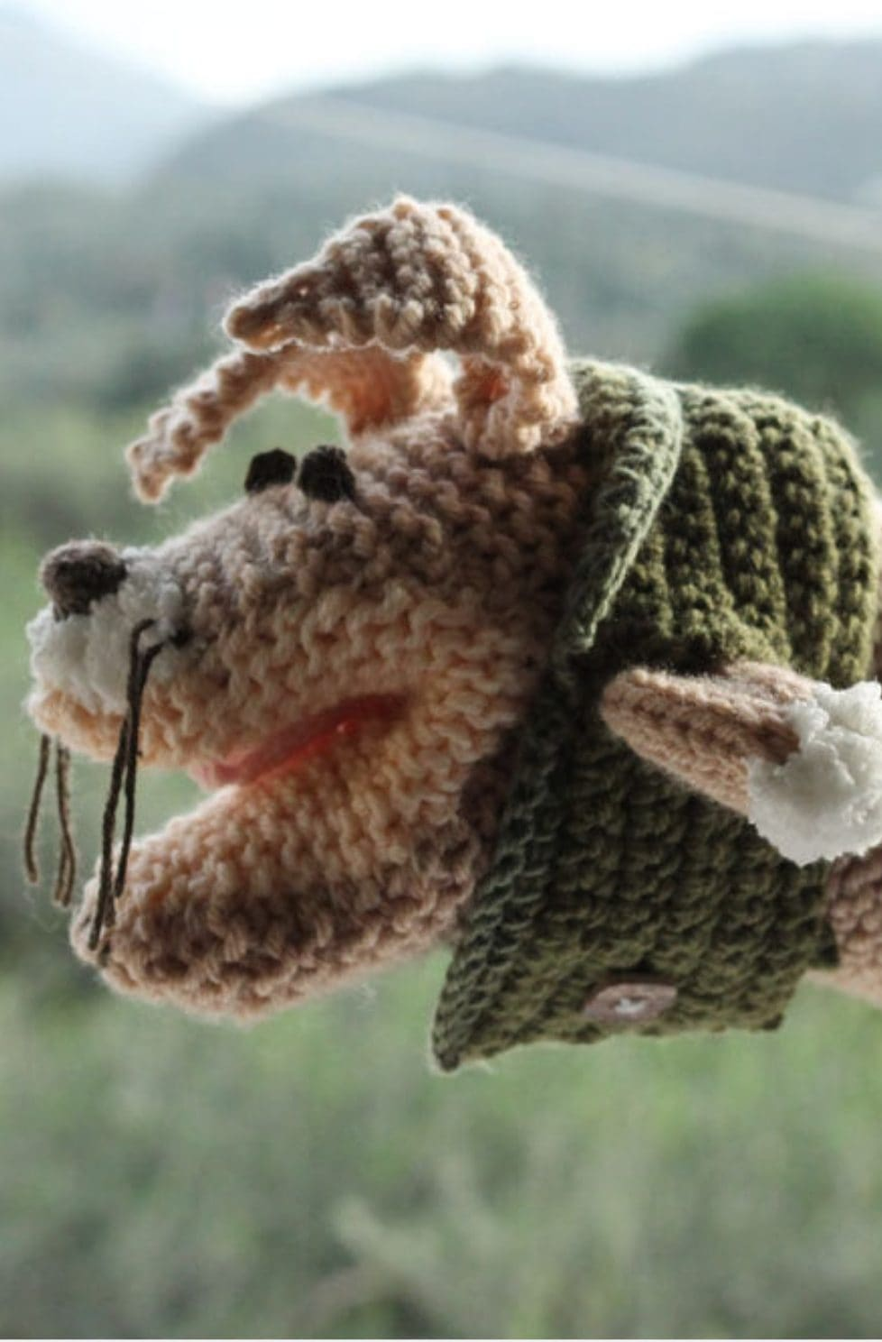 Animal Hand Puppet Free Knitting Pattern