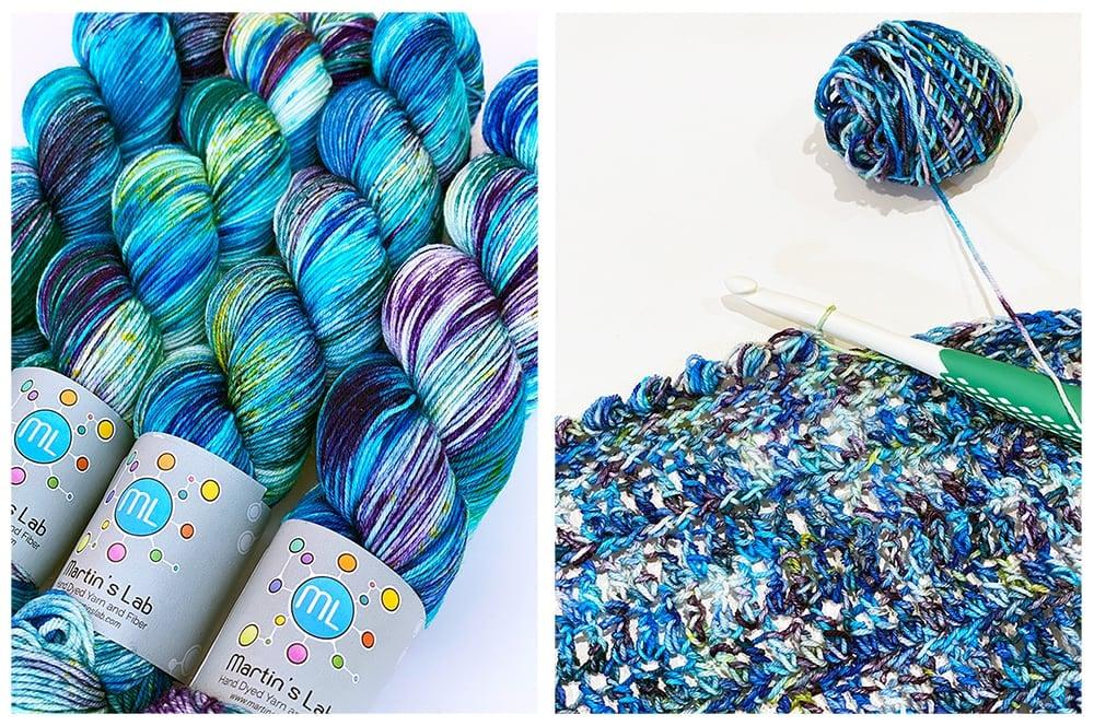 Atlantis yarn by Martin's Lab