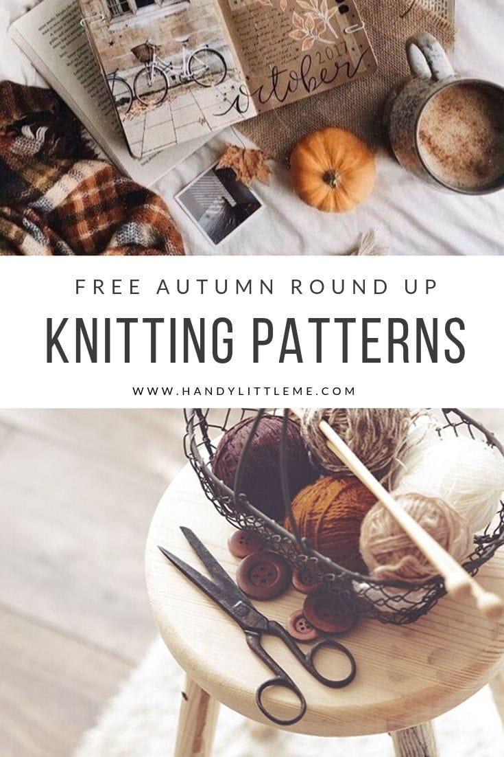Autumn knitting patterns