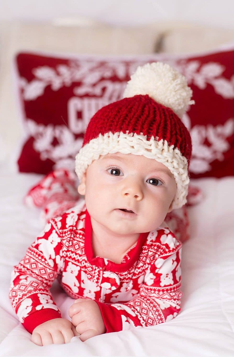 Baby Santa Hat – Knitting Pattern