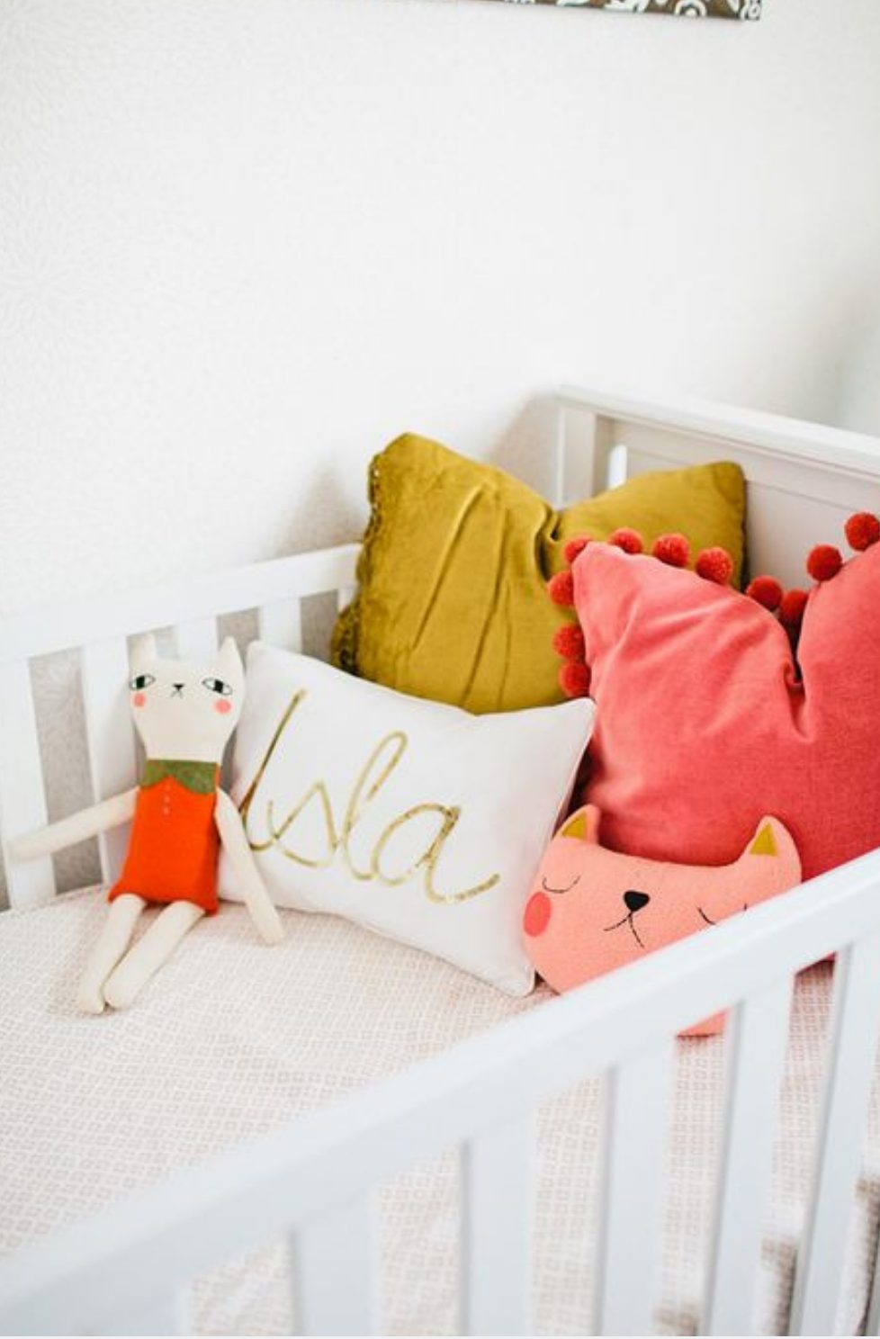 Baby nursery ideas with colour