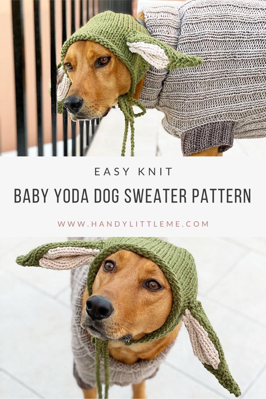 Baby yoda pattern