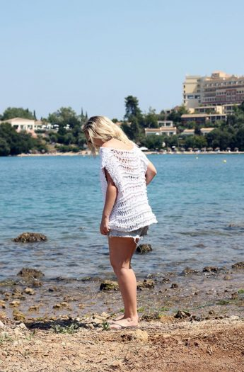 Beach Cover-Up Free Knitting Pattern