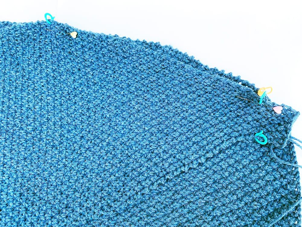 Blue cardigan making up step 4jpg