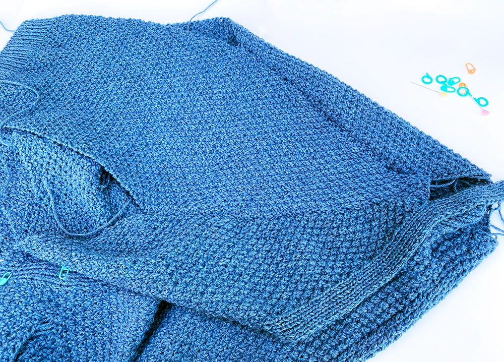 how to make up the blue cardigan