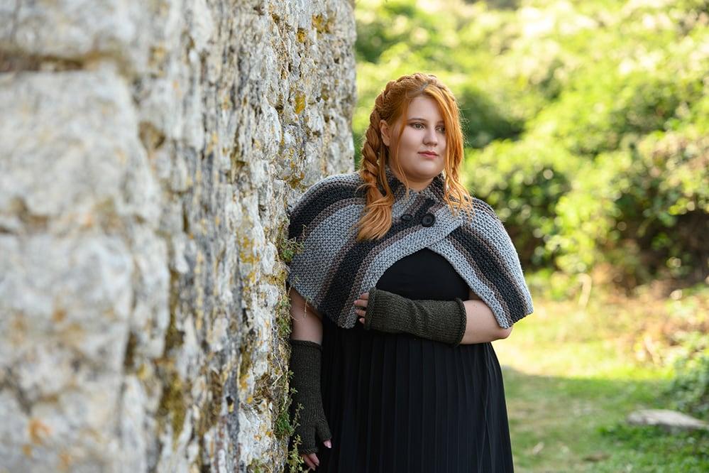 Outlander Brianna capelet