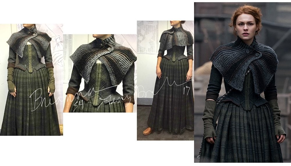 Brianna costume from Outlander