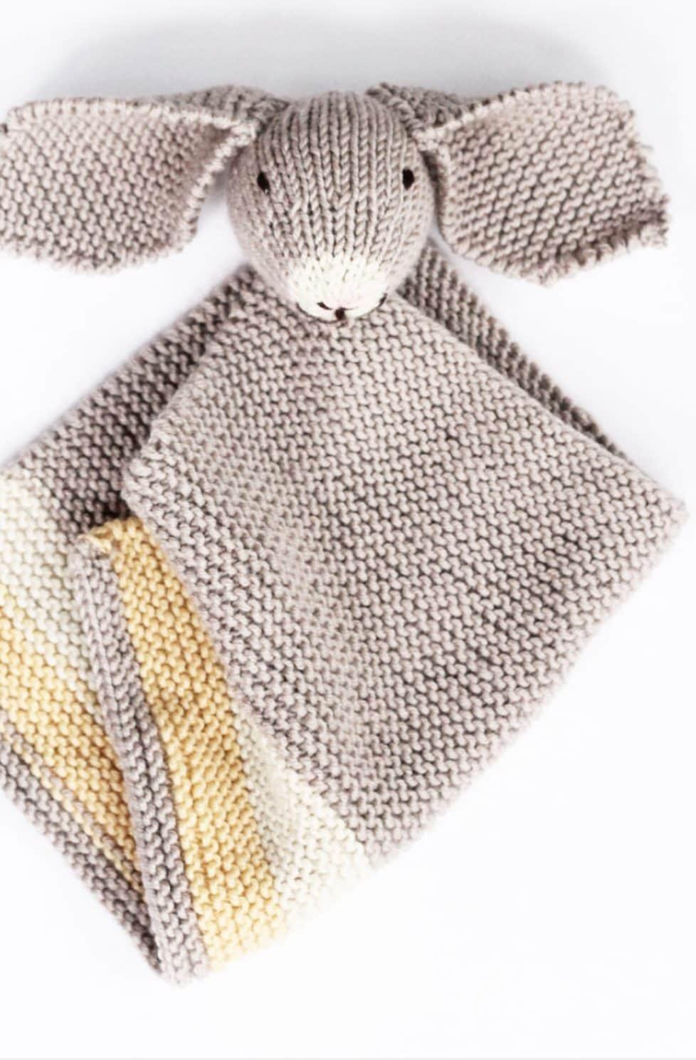 Bunny Baby Blankie – Knitting Pattern