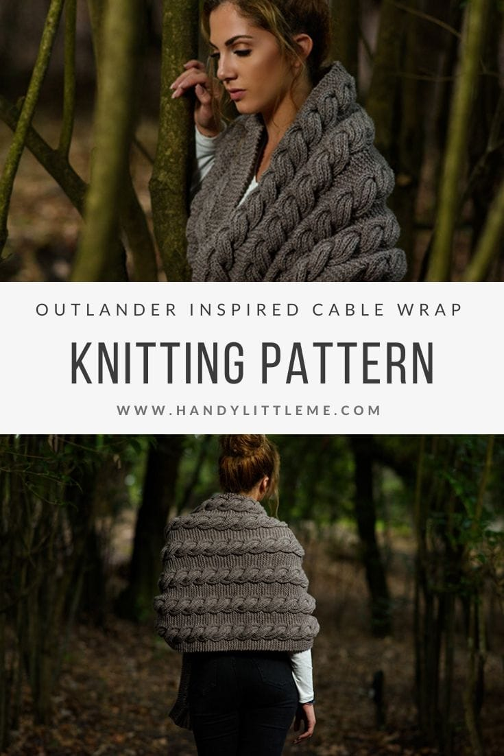 Cable wrap knitting pattern free