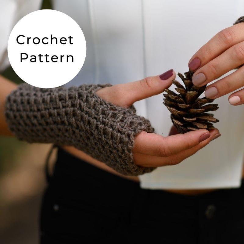 Carolina crochet gloves shop image