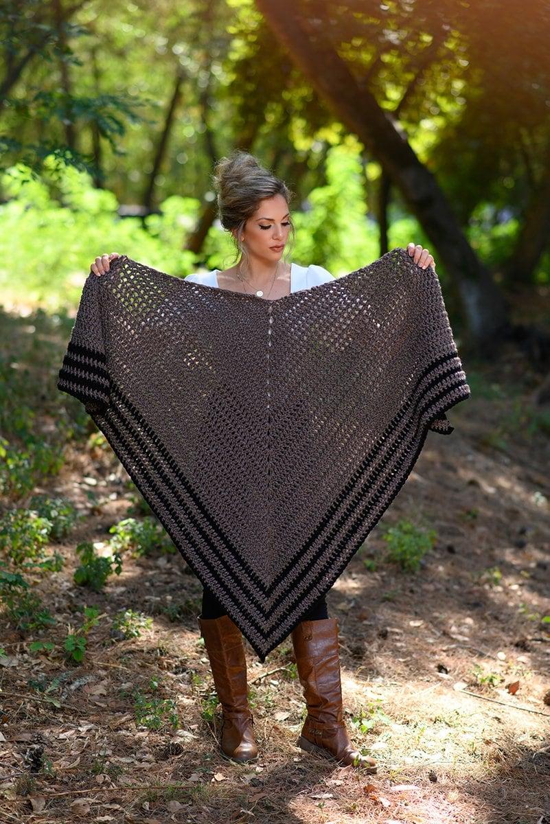 Carolina shawl crochet pattern