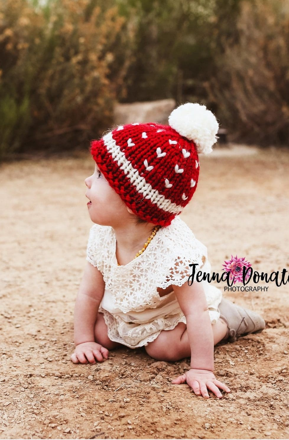 Christmas Baby Hat Knitting Pattern