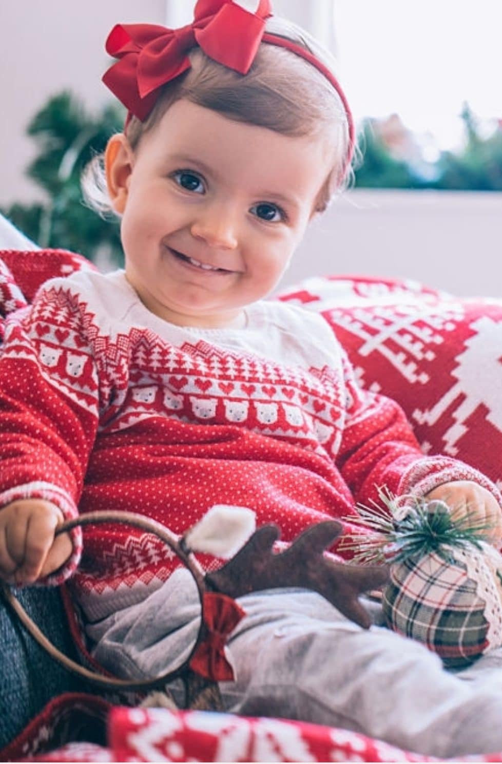 Christmas knits for babies