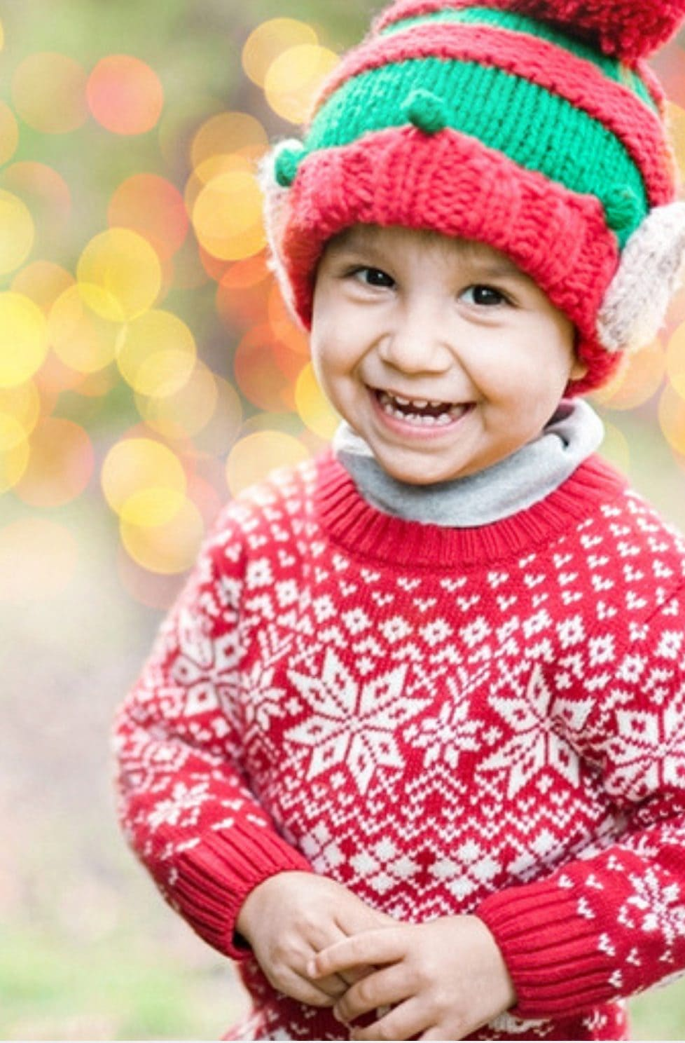 Christmas knits for kids