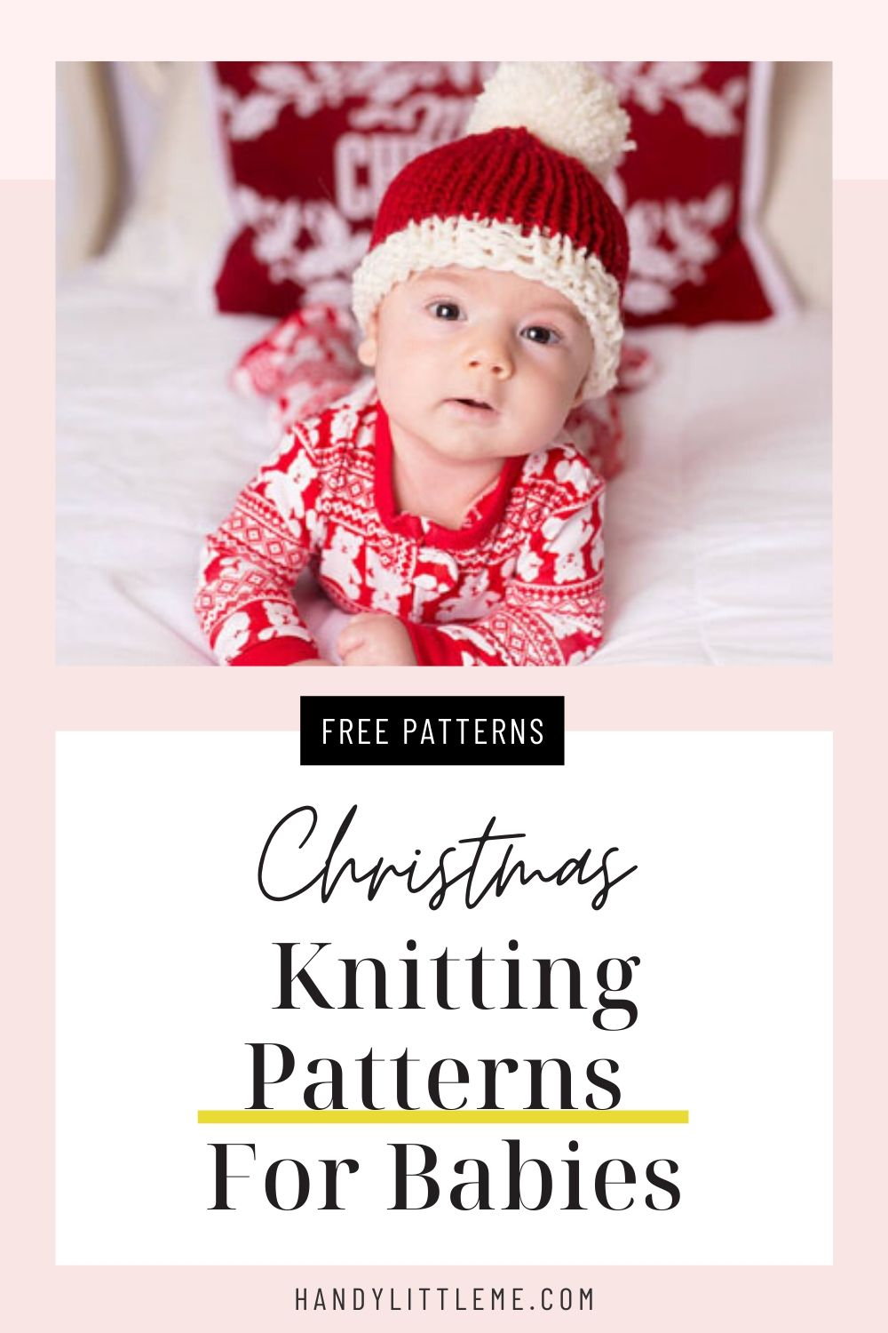 Christmas knitting patterns for babies