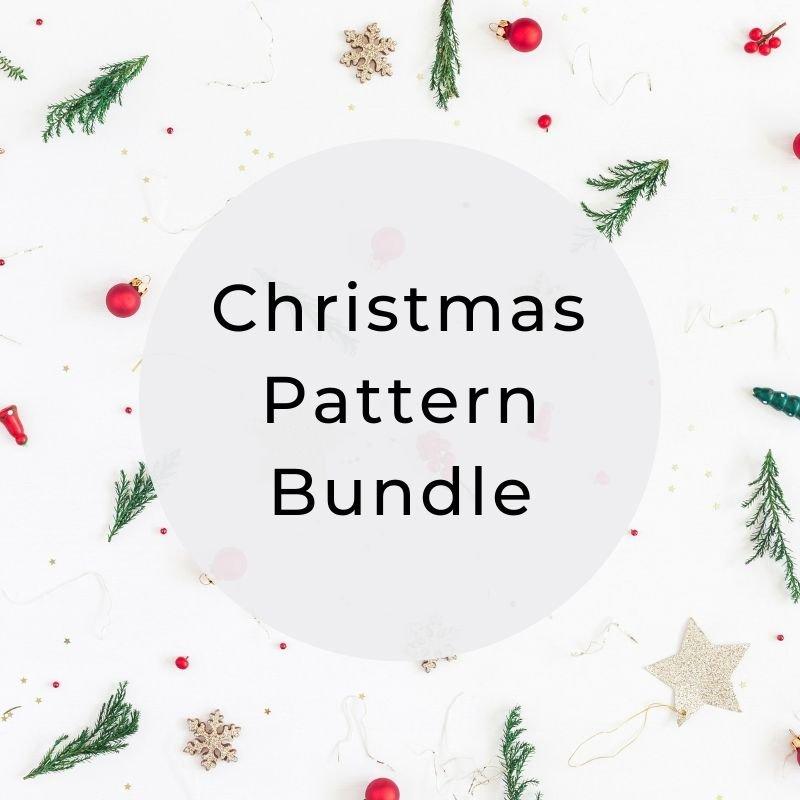 Christmas pattern bundle feat image