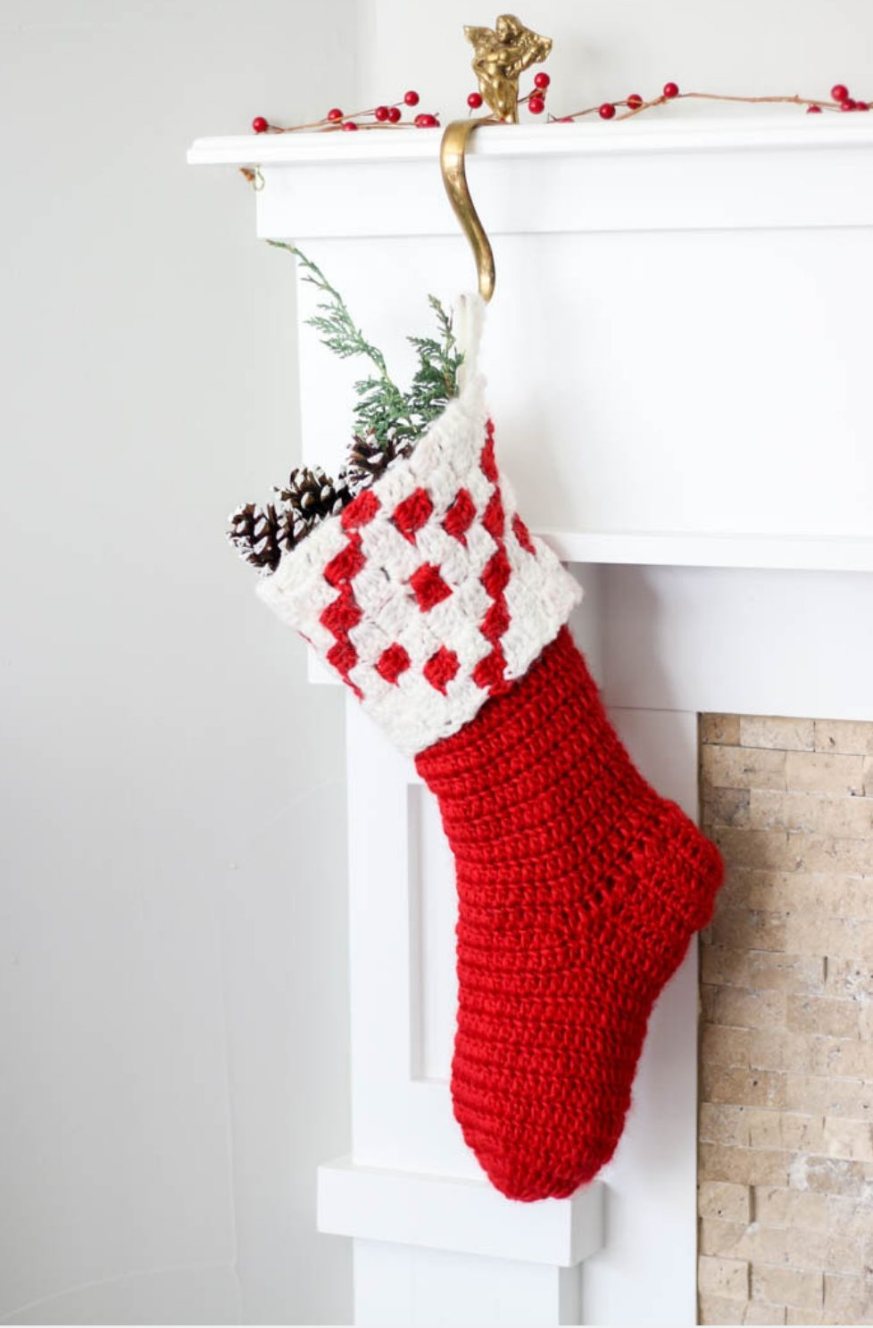 Christmas stockings crochet