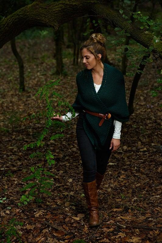 Outlander Claire shawl