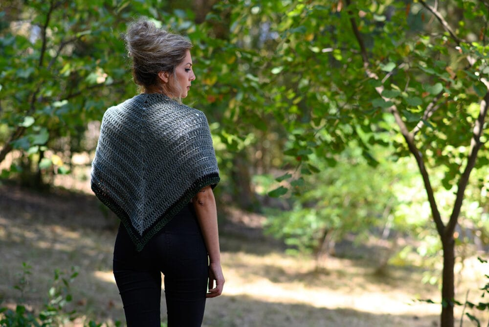 Claire's Outlander shawl from the rent episode