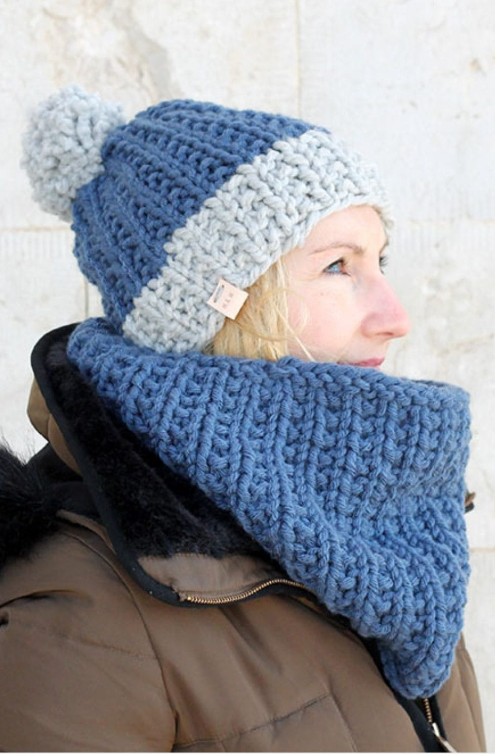 Cowl Pattern And Hat | The Hermione