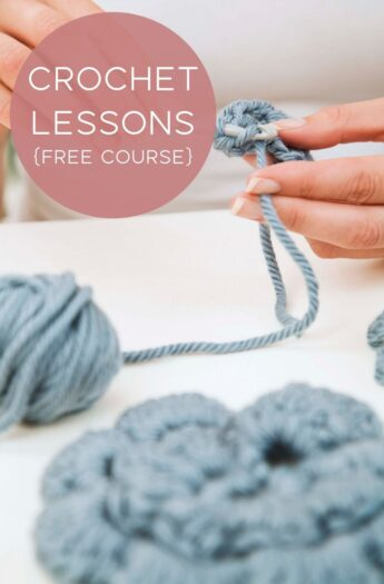 Crochet Lessons {With Video Tutorials}