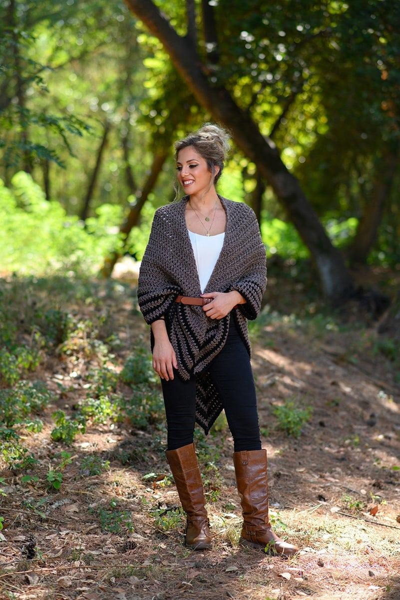 Crochet Outlander shawl