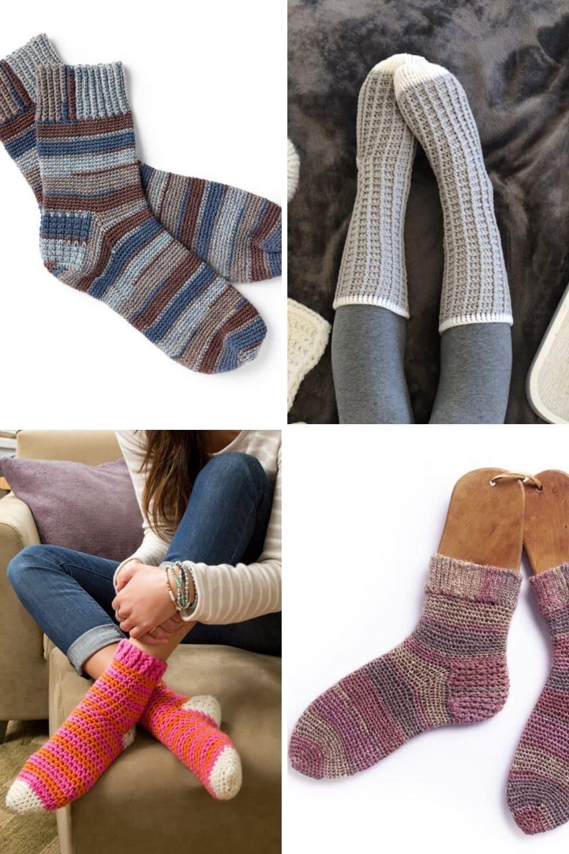 Crochet Socks Featured Image