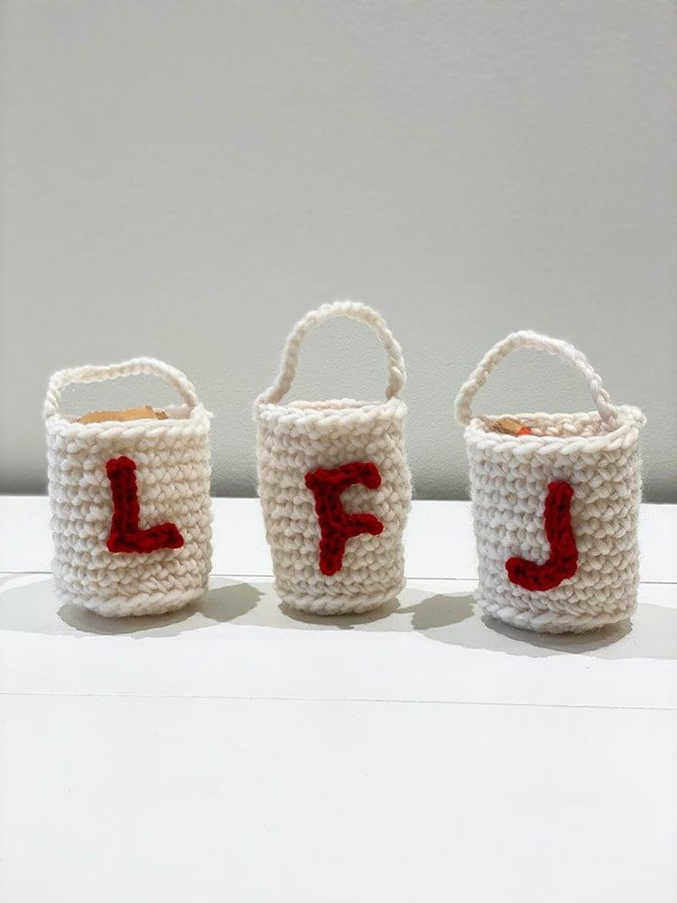 Mini Crochet gift bags