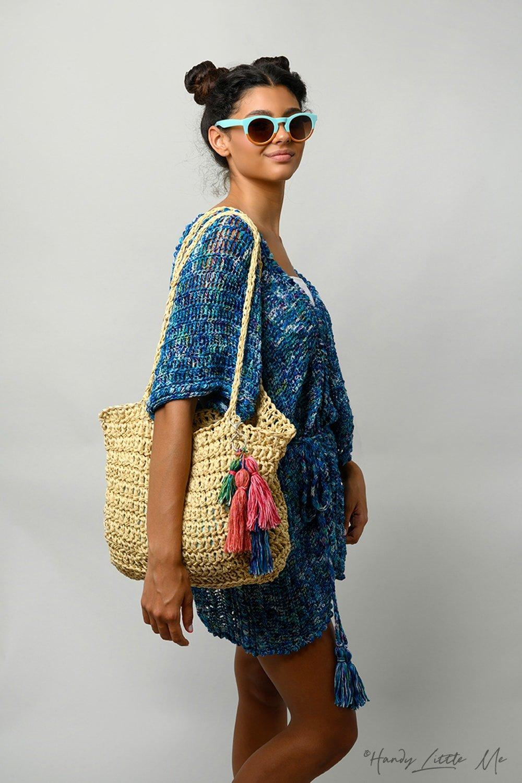 Crochet beach bag feat image
