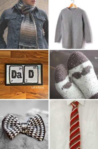 6 Crochet Gifts For Dad