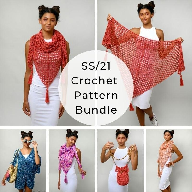 Crochet pattern bundle summer shop