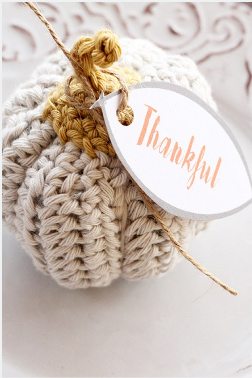 Pumpkin Crochet Pattern {Easy And Quick}