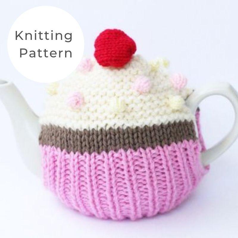 Cupcake tea cosy pattern