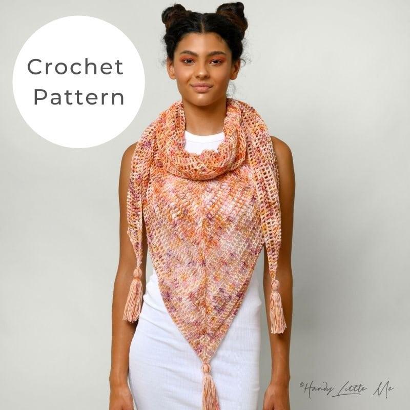 Diana crochet shawl shop image