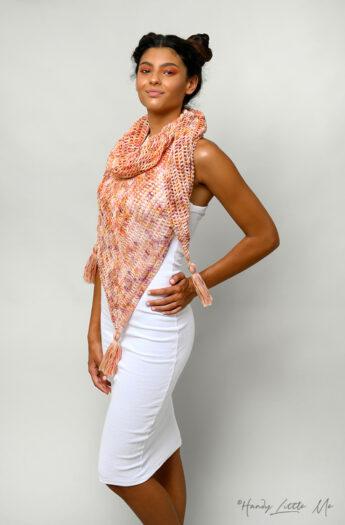 Diana Triangle Shawl Crochet Pattern