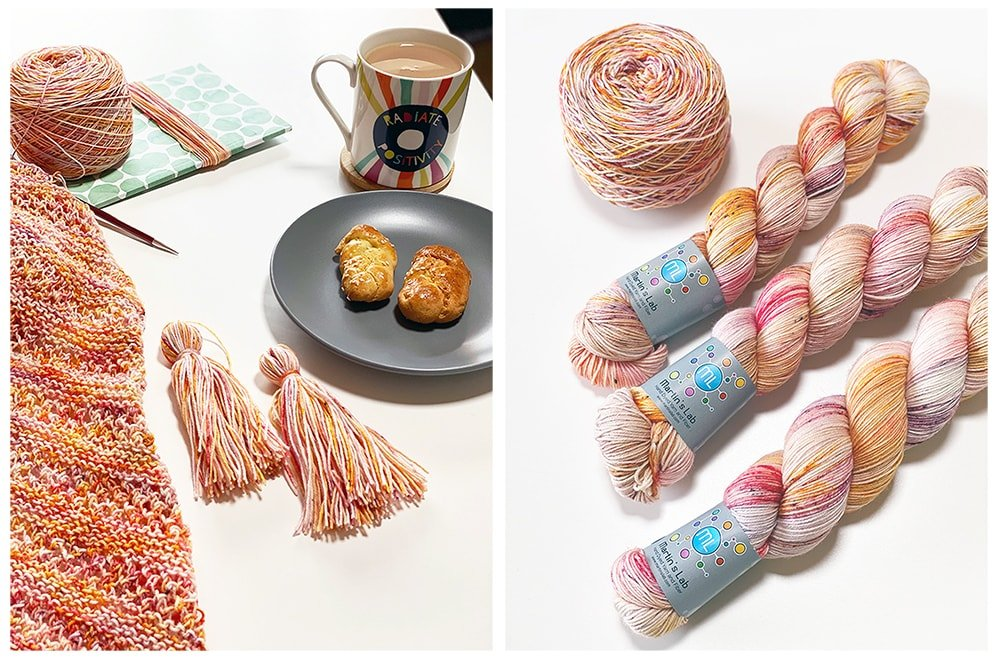 Diana yarn from Martin's lab