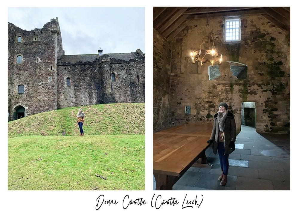 Doune castle Outlander tour in Scotland review