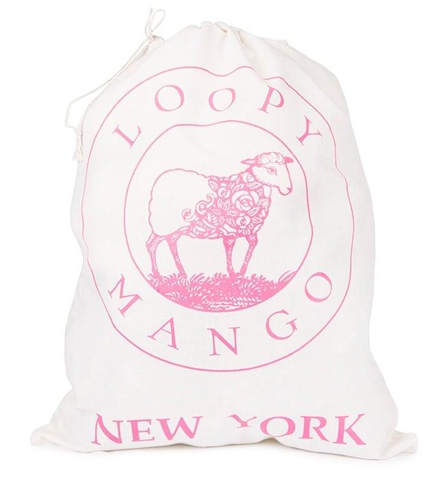 Drawstring cotton yarn bag