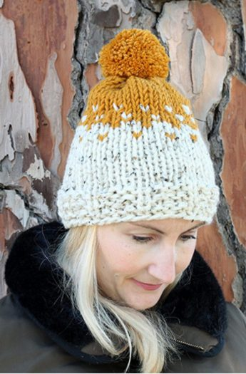 Stranded Knitting Hat Pattern   The Willow