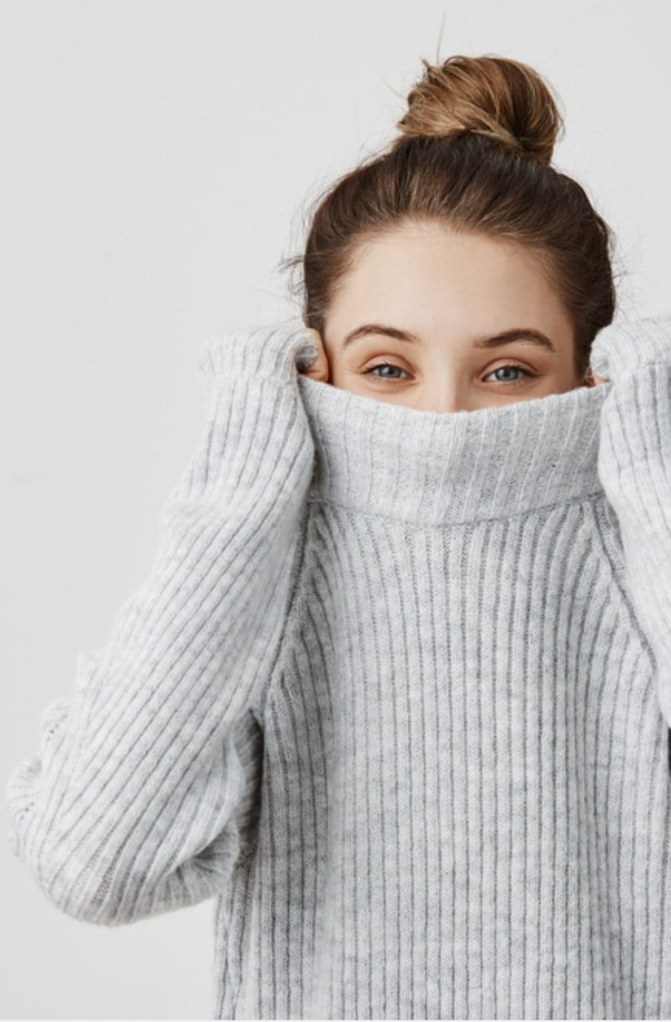 Fall oversized knits
