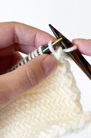 How To Knit Herringbone Stitch {Photo + Video Tutorial}