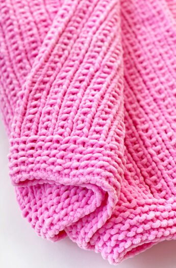 Easy Baby Blanket Knitting Pattern {Broken Rib Stitch}