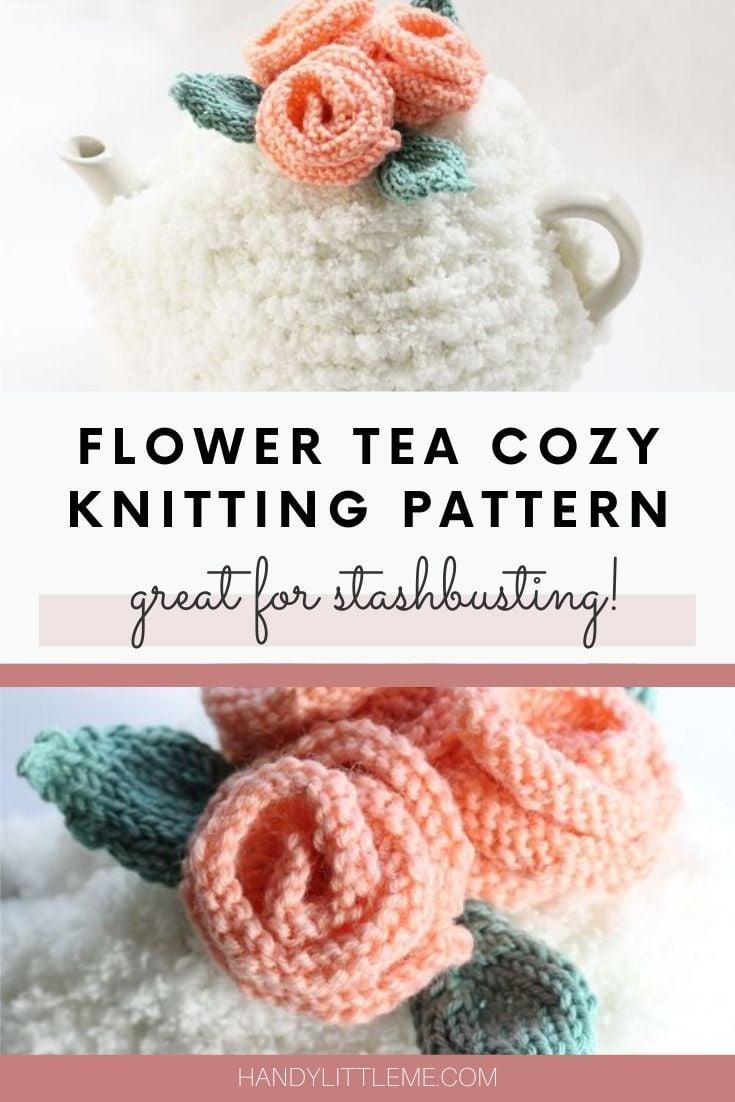 Flower Tea Cozy Pattern
