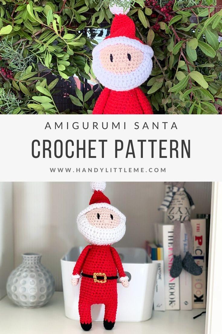 Free Crochet Santa Claus Pattern