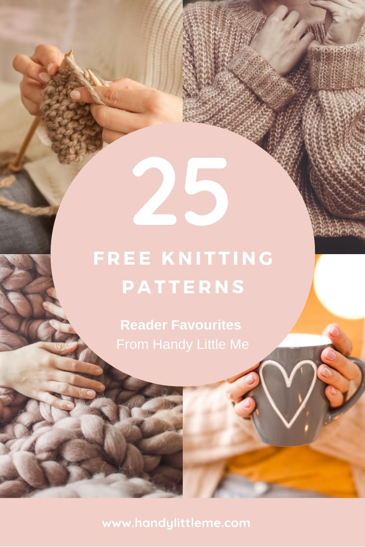 free knitting patterns and reader favourites from handy little me