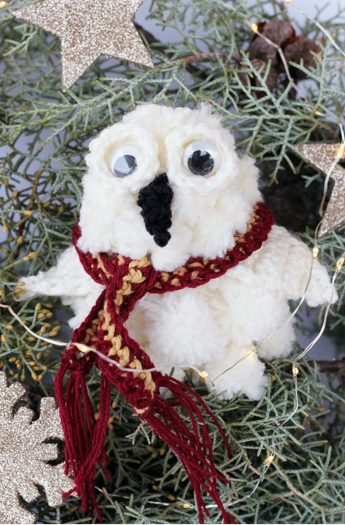 Hedwig Ornament | Harry Potter DIY