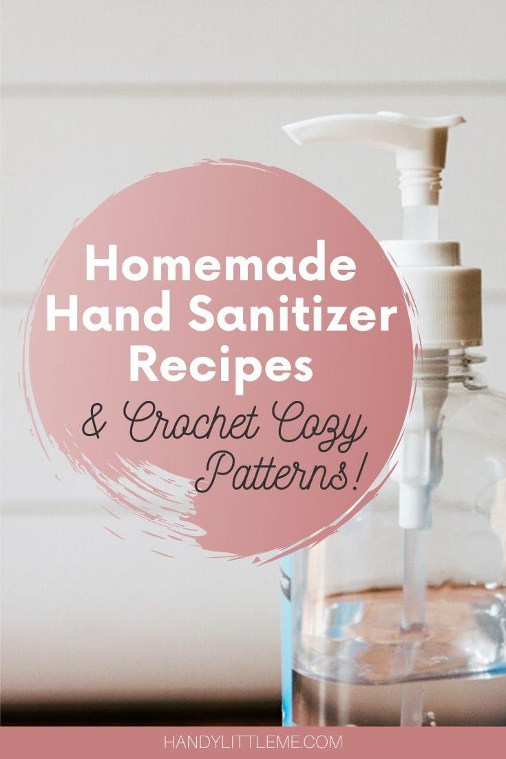 Homemade hand sanitizer recipes