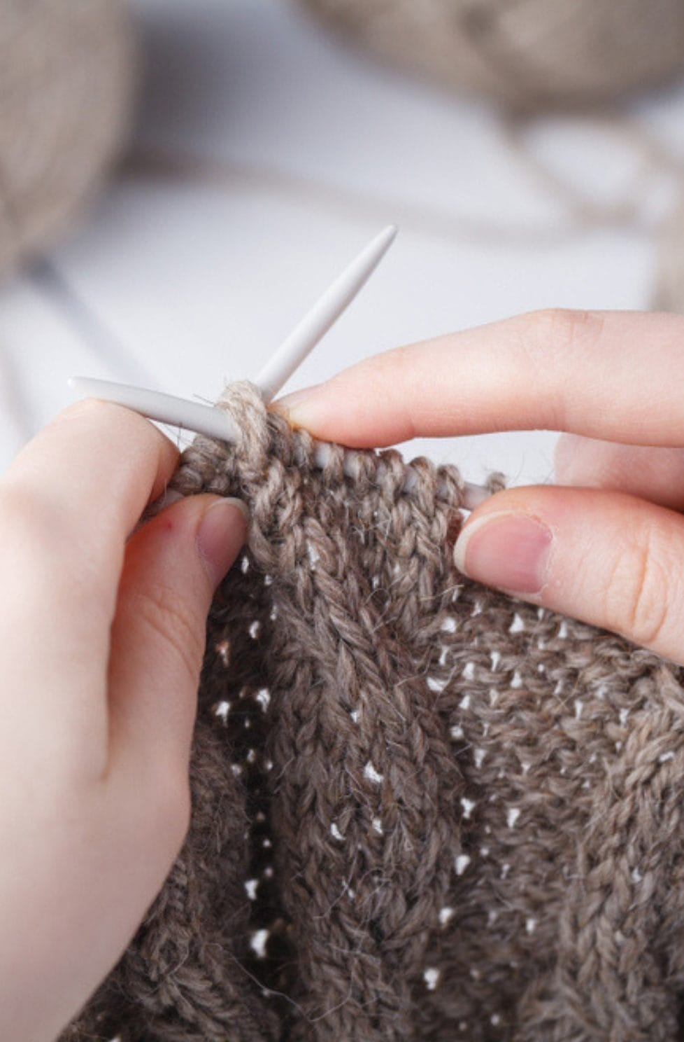How To Cast Off Knitting