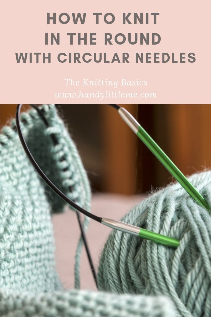 How to join knitting in the round with circular needles