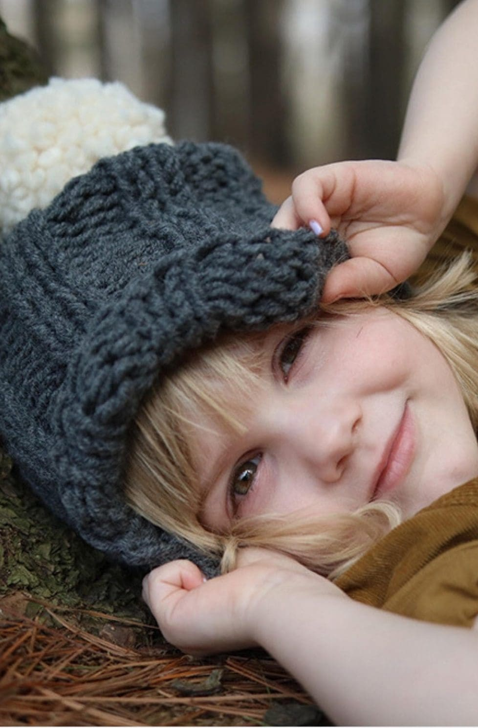Kids Hat Pattern | The Gracie